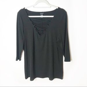 Torrid 3-4 Sleeve Top